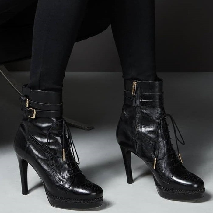Burberry Manners Booties Black