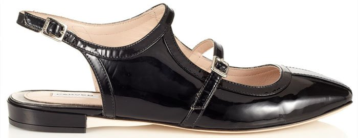 Carven Black Patent Leather Shoes