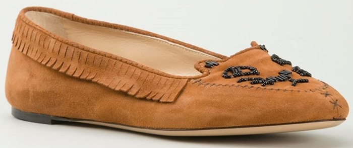 Charlotte Olympia Kitty Moccasins