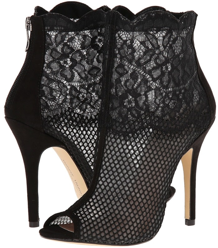 Chinese Laundry Jeopard Mesh Lace Booties
