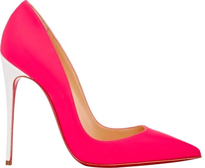 Christian Louboutin So Kate Pumps Neon Pink