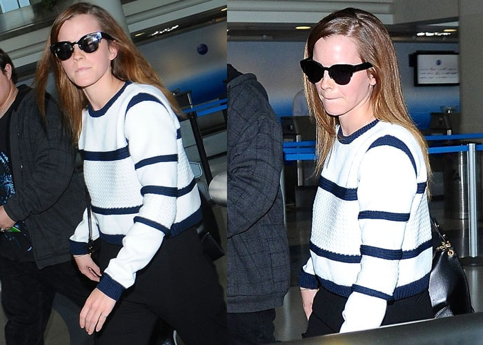 Emma Watson ignored her fans waiting for autographs