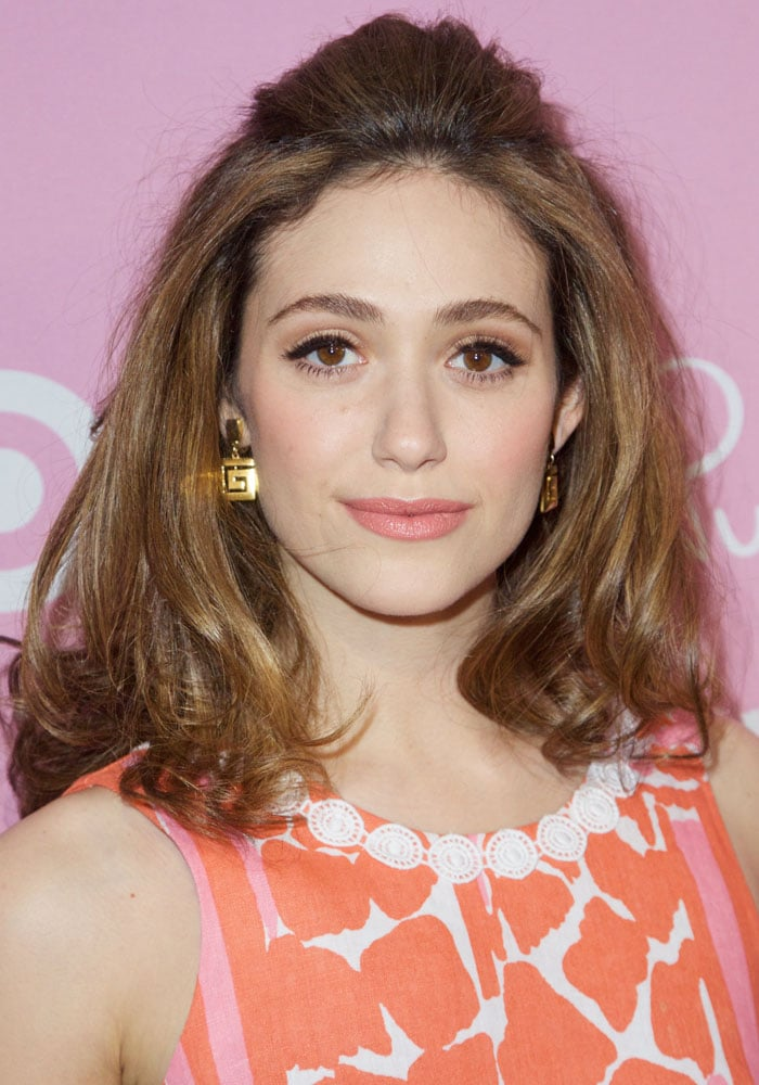 We're a bit iffy about Emmy Rossum's hair