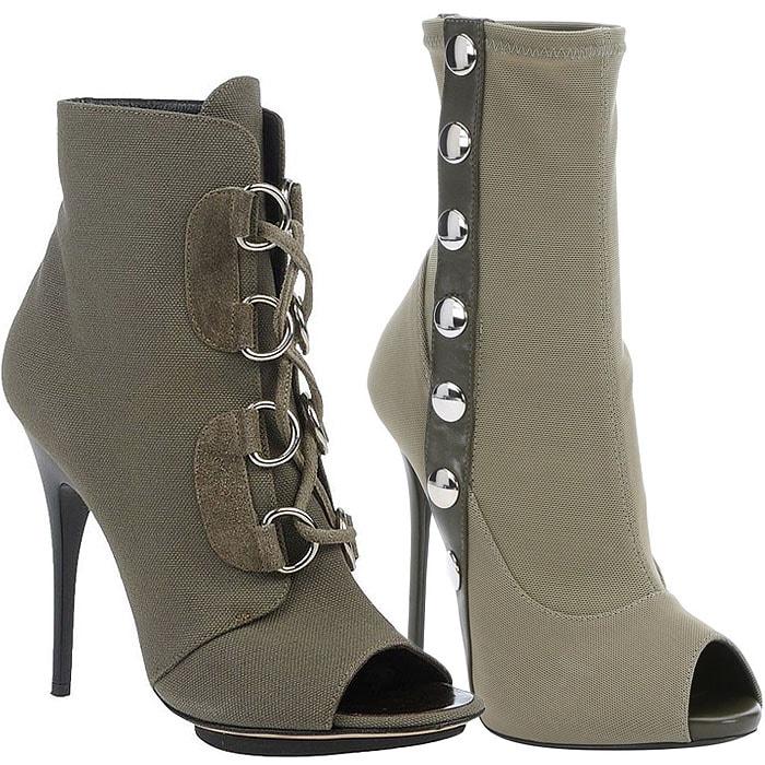 Giuseppe Zanotti military boots