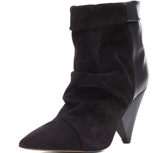 Isabel-Marant-Andrew-Calfskin-Velvet-Boots-1