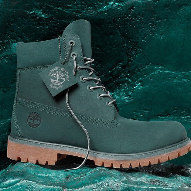 Limited Release Green Jade Timberland Boots