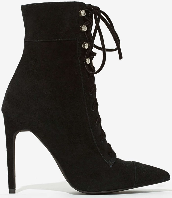Jeffrey Campbell Elphaba Suede Boots