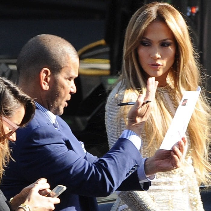 "Jennifer Lopez at ""American Idol"""