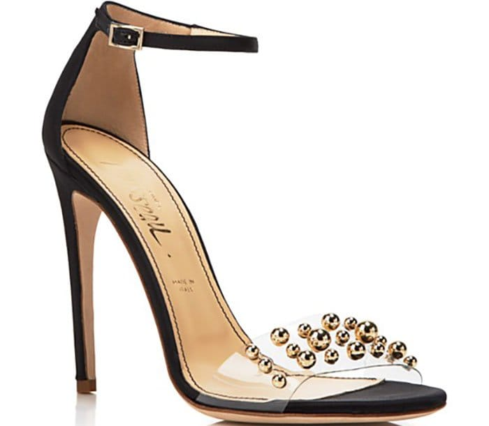 "Jerome C. Rousseau ""Leroy"" Open-Toe Studded Evening Sandals"