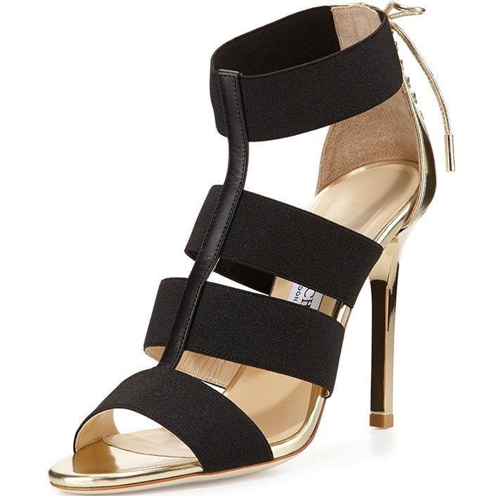 Jimmy Choo Dario Leather Ladder Sandals