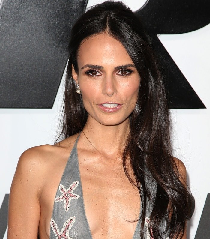 Jordana Brewster at the premiere of Furious 7 at the TCL Chinese Theatre in Hollywood on April 1, 2015