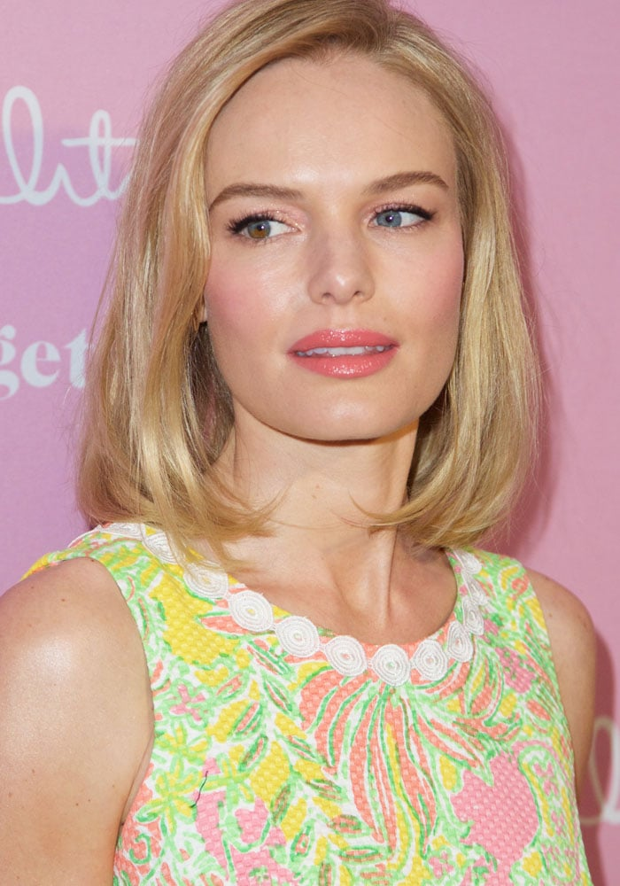 Kate Bosworth at the Lilly Pulitzer for Target collaboration shopping event at Bryant Park Grill in New York City on April 15, 2015