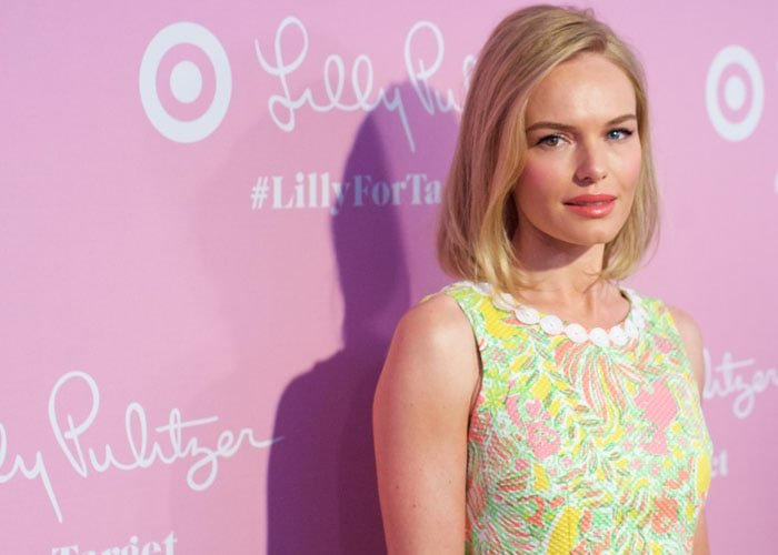 Kate Bosworth with a slightly wavy hairstyle