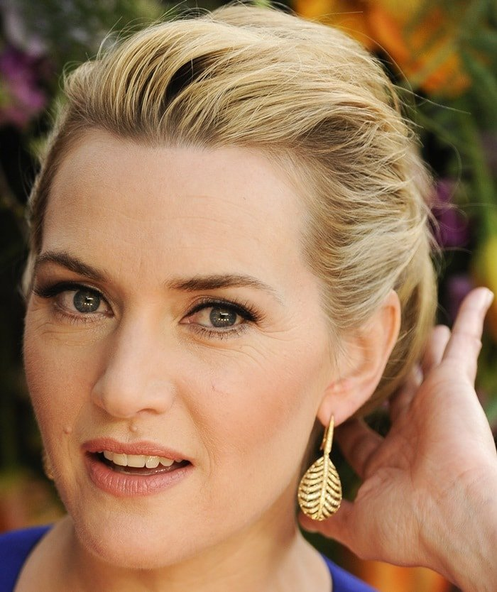 Kate Winslet at the premiere of her latest film A Little Chaos