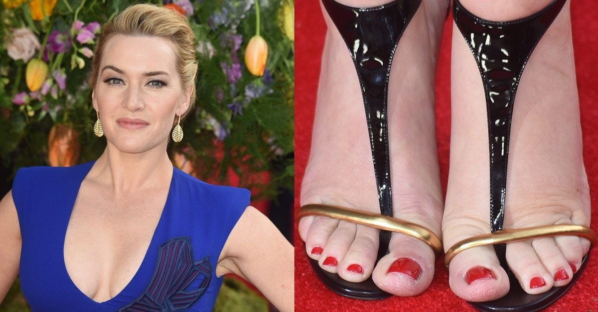Kate Winslet Puts Cleavage On Display In Christian