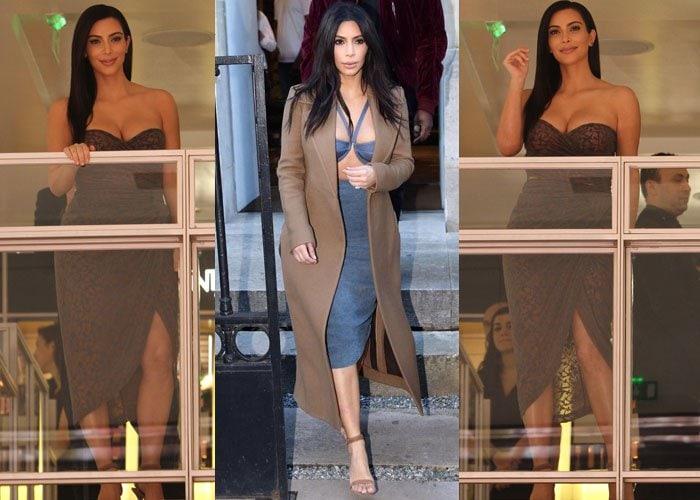 Kim Kardashian Alexander Wang Hair Launch 4