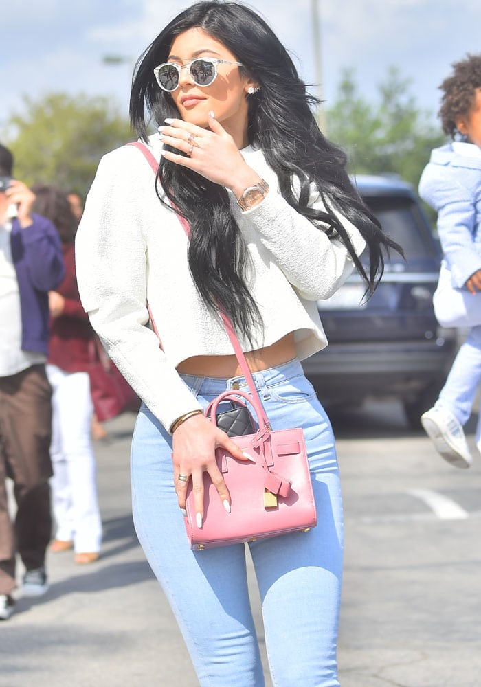 Kylie Jenner Easter Tyga 1