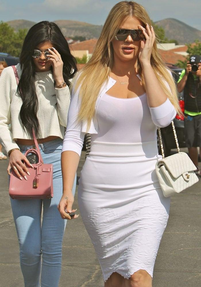 Kylie Jenner Easter Tyga 3
