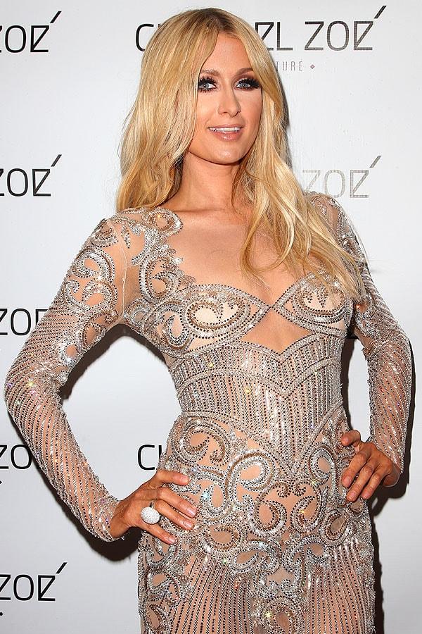 Paris Hilton Charbel Zoe store launch 1