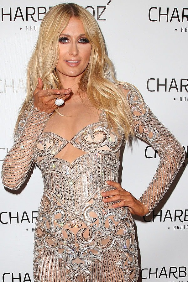 Paris Hilton Charbel Zoe store launch 2
