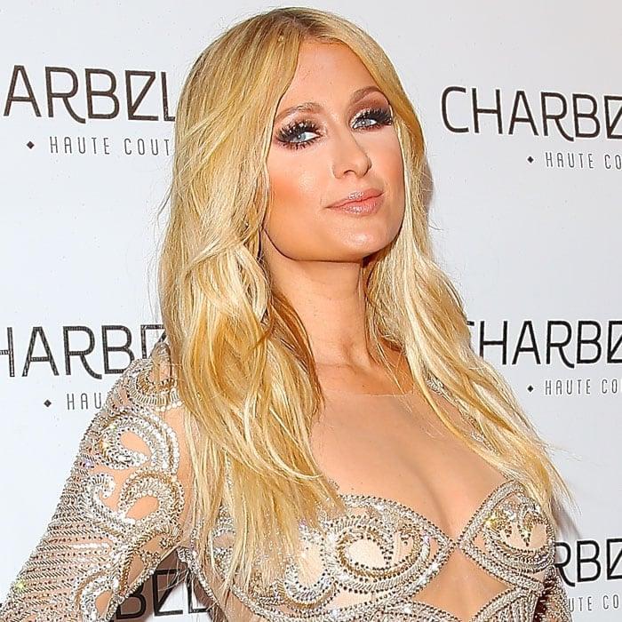 Paris Hilton Charbel Zoe store launch 3