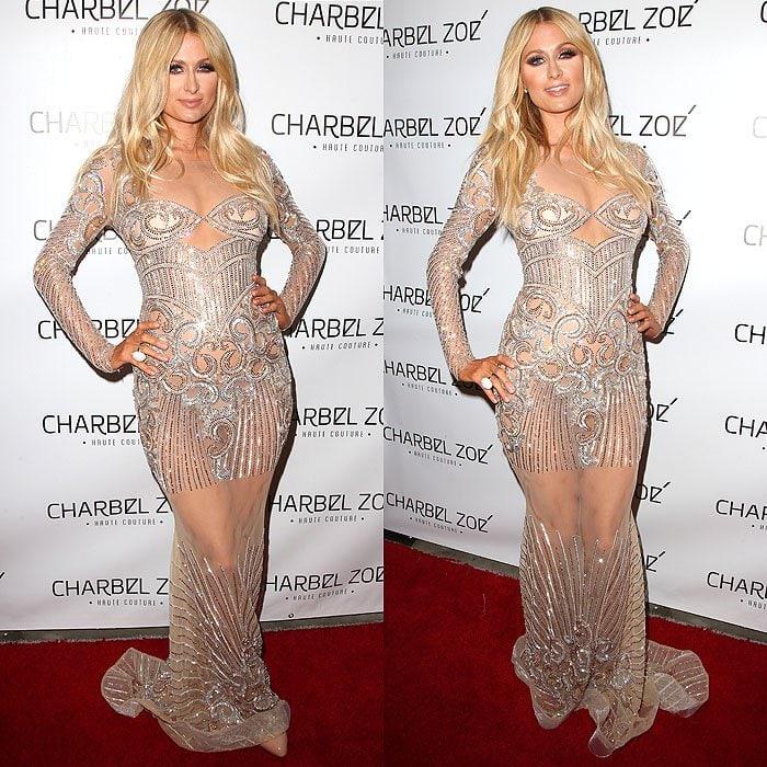 Paris Hilton Charbel Zoe store launch