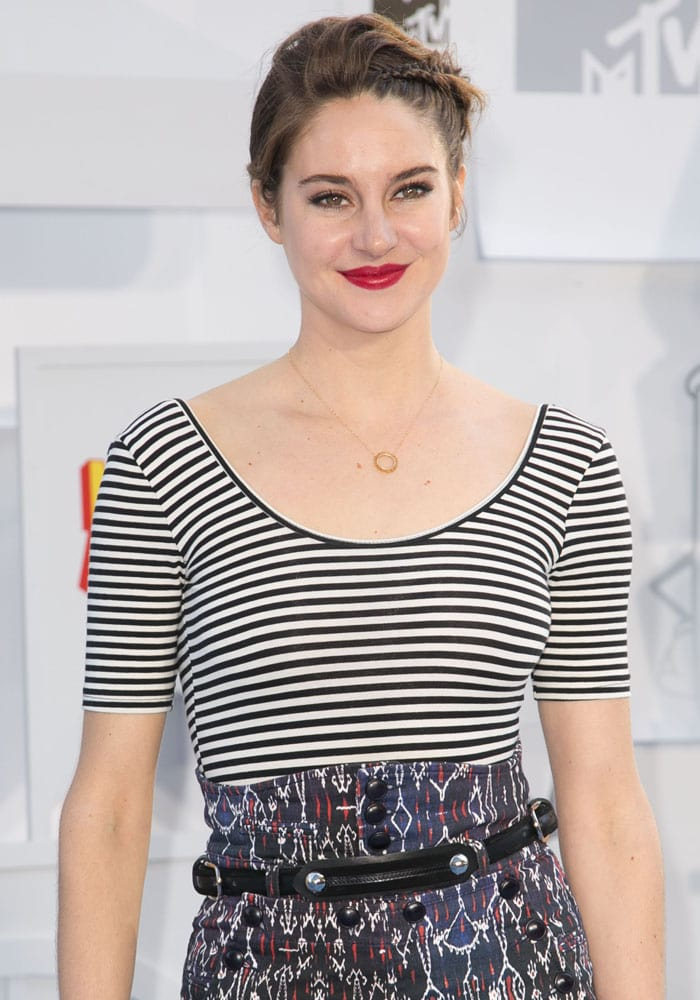 Shailene Woodley MTV Awards 1