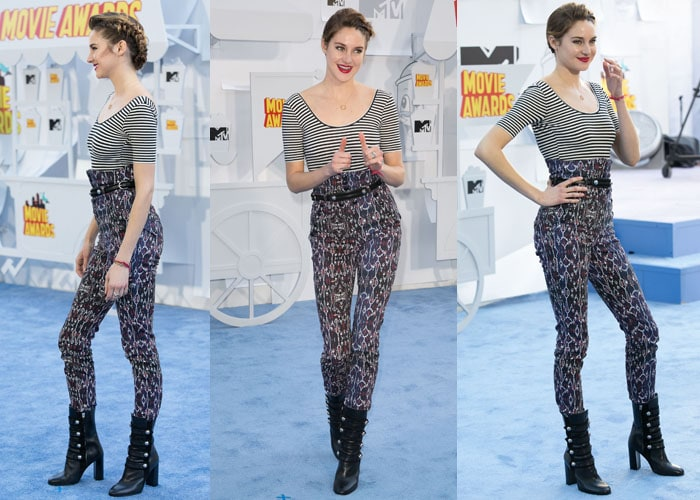 Shailene Woodley MTV Awards 6