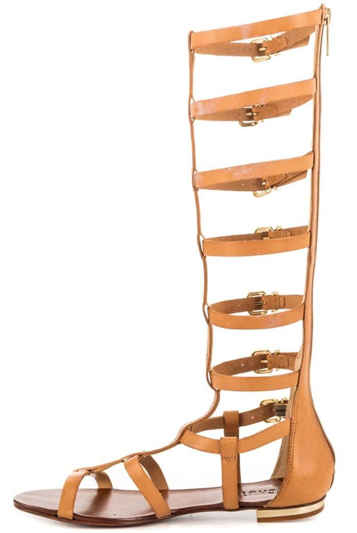 Schutz Gladiator Sandals in Tan