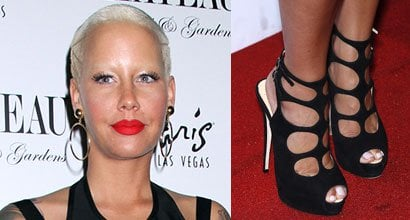 f223ce03cc1e Amber Rose Hosts Memorial Day Weekend at Chateau Nightclub in Giuseppe  Zanotti Heels