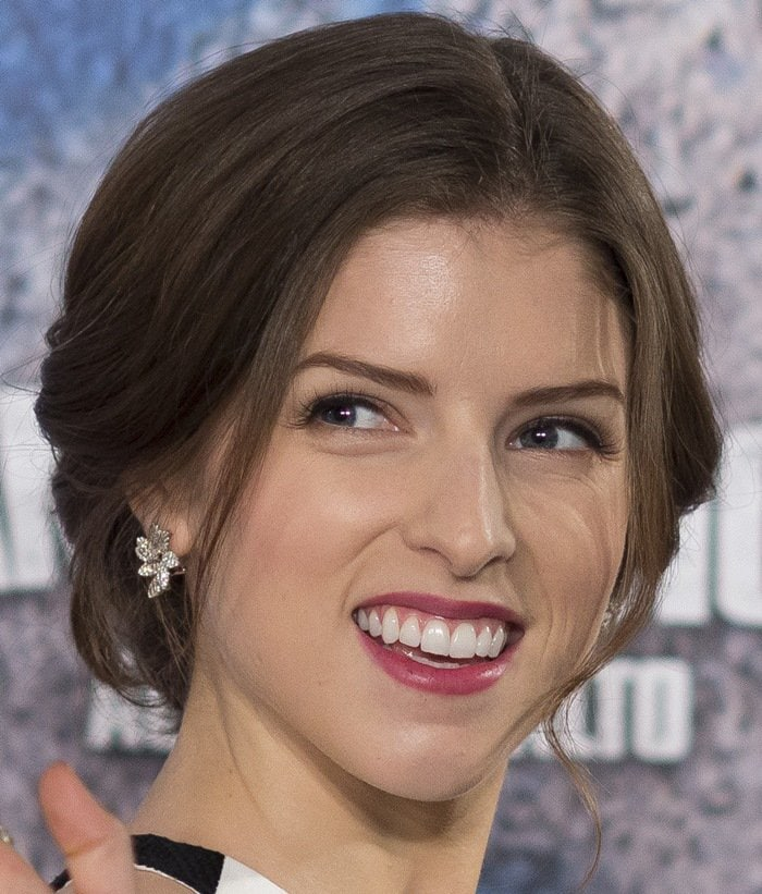 Anna Kendrick attended a photocall for 'Pitch Perfect 2' at the Villamagna Hotel in Madrid on May 5, 2015