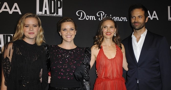 "Natalie Portman says meeting her husband Benjamin Millepied was the best part of making ""Black Swan"""