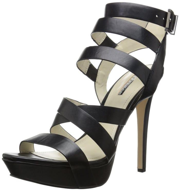 Black Mystic Platform Sandals