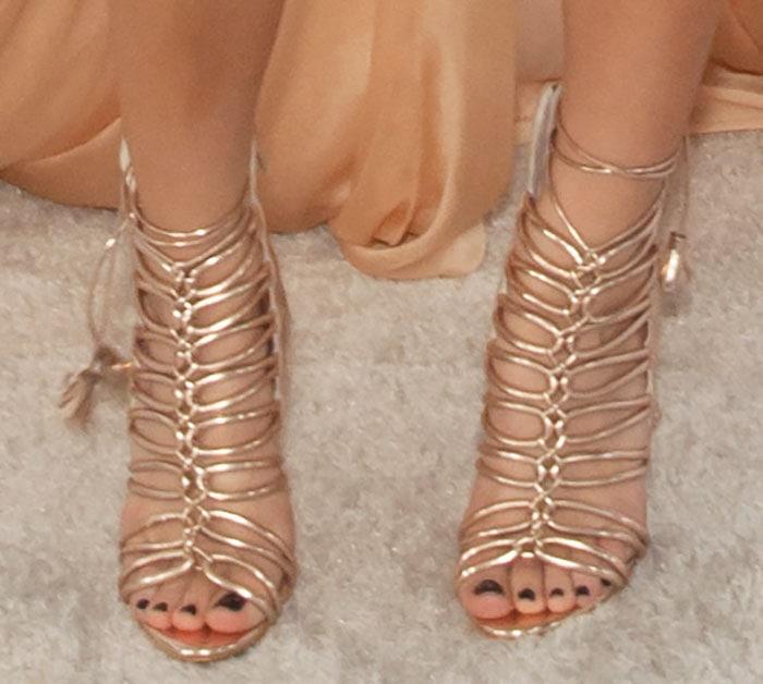 Becky-G-Sophia-Webster-Lacey-gladiator-sandals