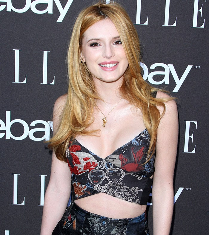 """Bella Thorne at the 6th Annual ELLE """"Women in Music"""" Celebration presented by eBay"""