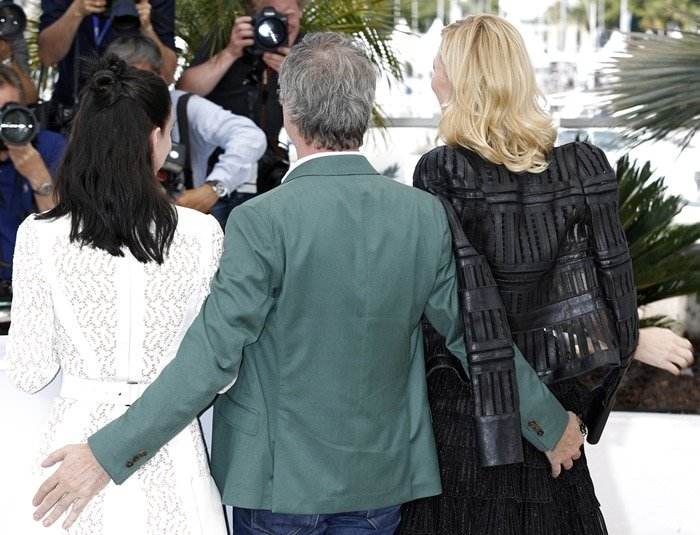 Cate Blanchett, Rooney Mara, and Todd Haynes for the Cannes Film Festival