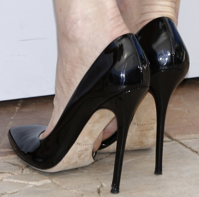 Cate Blanchett's Brian Atwood stiletto heels