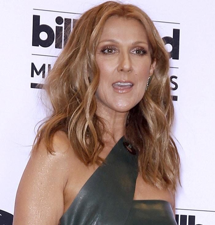 Celine Dion at the 2015 Billboard Music Awards