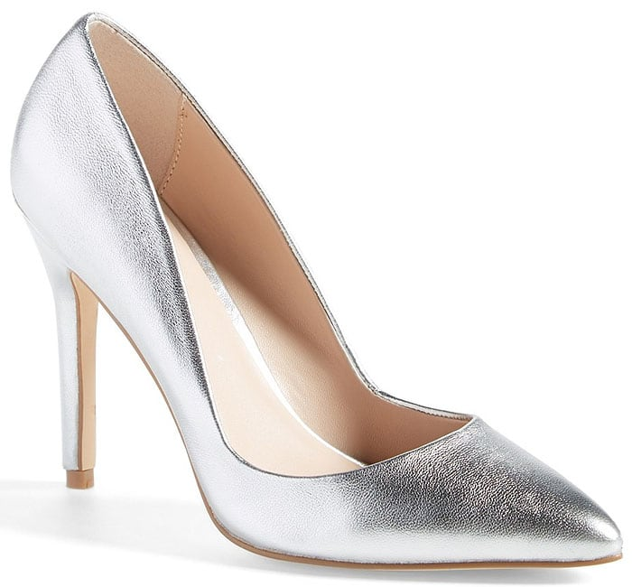 "Charles by Charles David ""Pact"" Pumps in Silver Metallic"