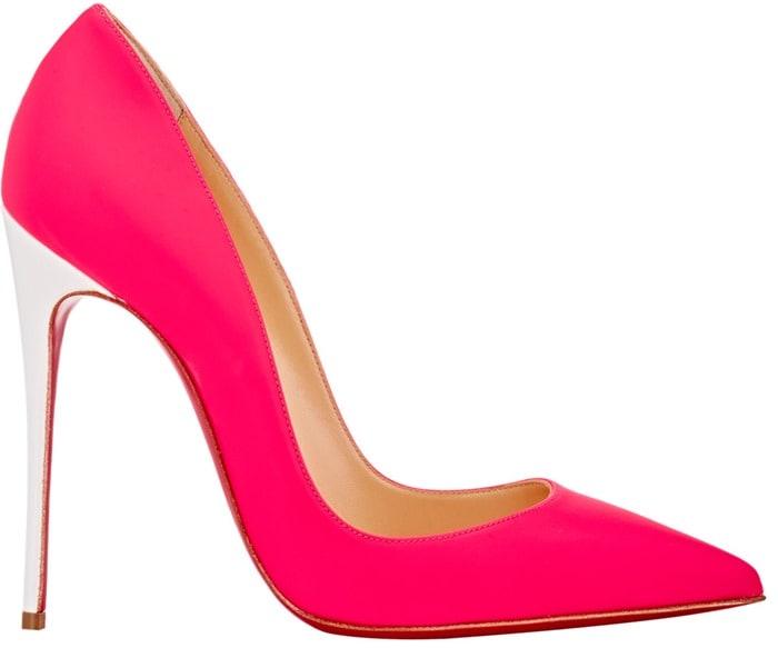 Christian Louboutin Pink So Kate Pumps