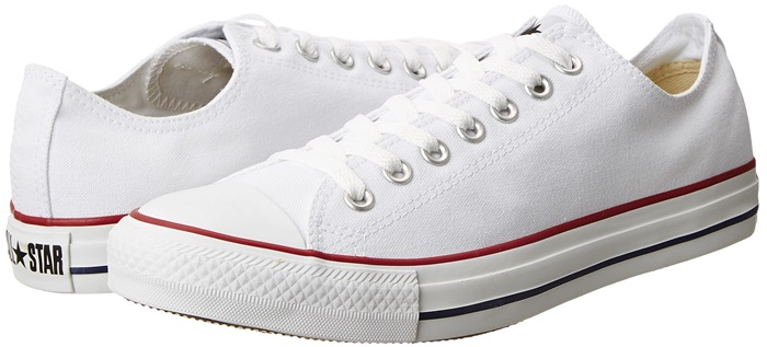 Converse Chuck Taylor All Star Core Ox Sneakers in Optical White