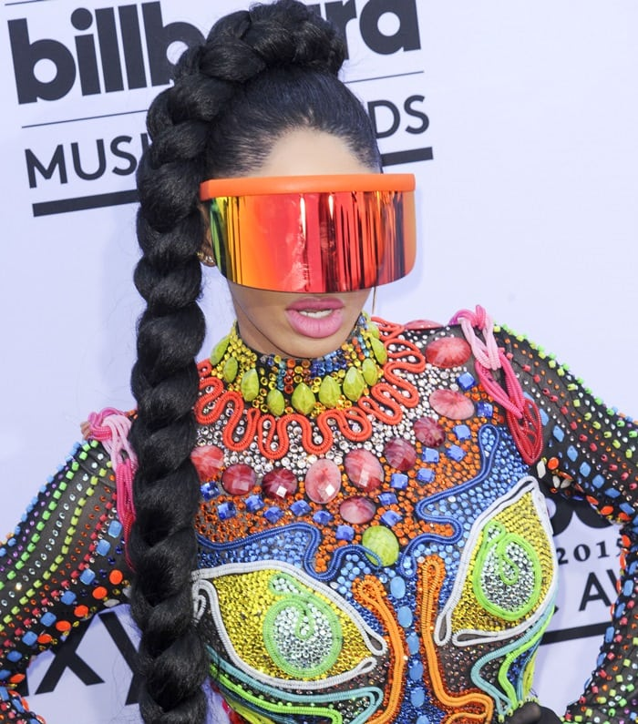 Dencia at the 2015 Billboard Music Awards held at the MGM Grand Garden Arena in Las Vegas on May 17, 2015