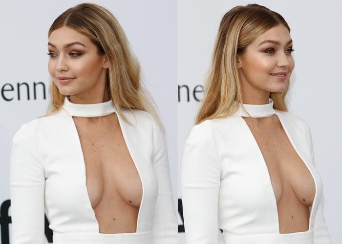 Gigi Hadid's graciously-given curves