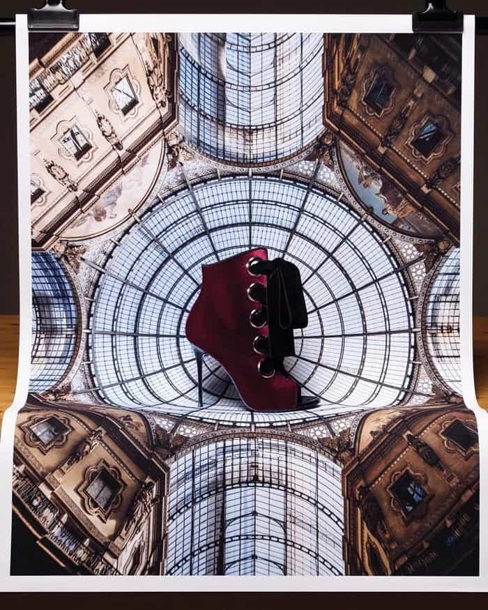 Giuseppe Zanotti 'Jeannine' Bordeaux Velvet Boots