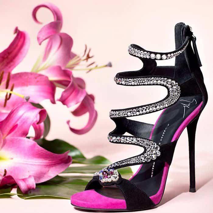 Giuseppe Zanotti 'Marion' Crystal Heels