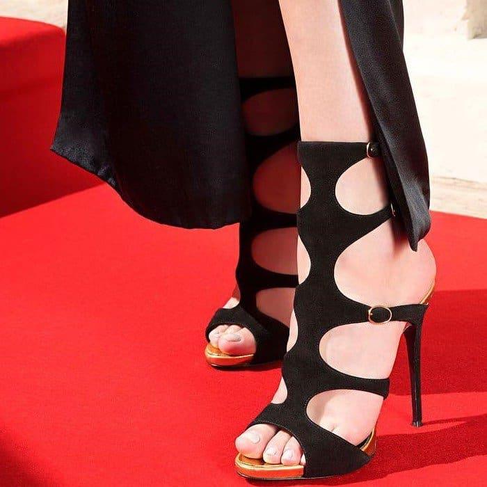Giuseppe Zanotti 'Renee' Gladiator Stiletto Heels