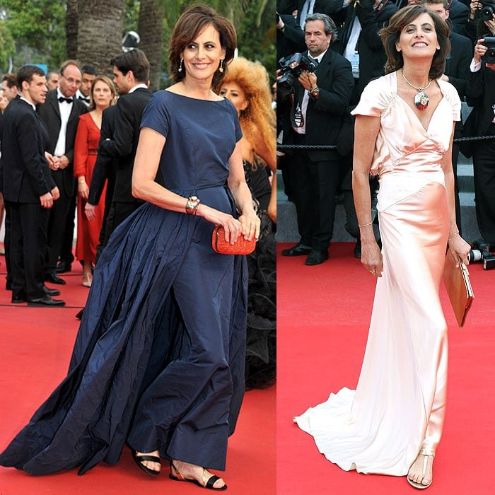 Inès de La Fressange is who the Cannes Film Festival should be referring to in proving that women are not limited to heels only on their red carpet