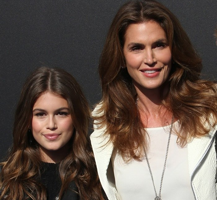 Cindy Crawford and her 13-year-old daughter Kaia Gerber