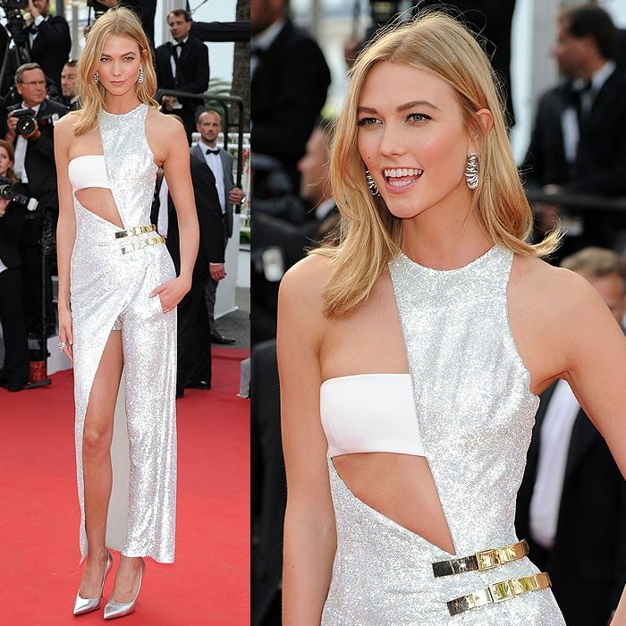 "Karlie Kloss at the opening ceremony and premiere of ""La Tete Haute"" (""Standing Tall"")"