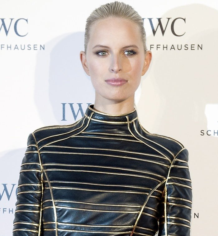 Karolina Kurkova at the 'For The Love Of Cinema' event hosted by Swiss luxury watch manufacturer IWC Schaffhausen at the Hotel du Cap-Eden-Roc in Antibes, France on May 19, 2013